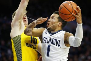 Villanova returns to No. 1 in reshuffled AP Top 25 poll