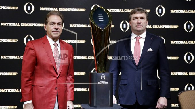 Saban, complacency-proof Alabama faces Georgia for title