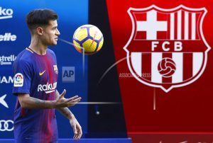 Coutinho arrives thanking Barcelona for its patience