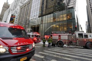 2 injured in Trump Tower heating system fire