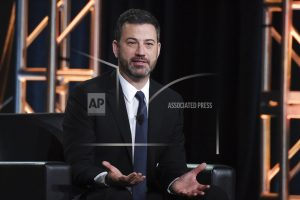 Kimmel says hard to tell what the mood will be for Oscars
