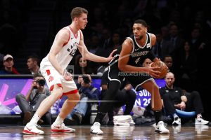 DeRozan helps Raptors beat Nets in OT after Lowry hurt