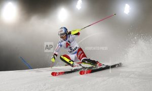 Shiffrin trails Austria's Schild after 1st run of WC slalom