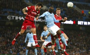 Man City grabs 2-1 lead vs Bristol City in League Cup semis