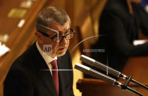 Czech PM facing fraud charges says he might not head govt