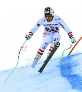 Austria's Kriechmayr leads downhill in World Cup combined