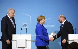 Germany's Merkel closer to breaking impasse over new govt