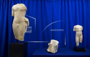 Lebanon receives trio of stolen artifacts recovered in NY
