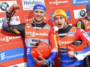 Eggert, Benecken win their 30th luge World Cup