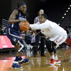Louisville is No. 2 behind UConn in women's basketball poll