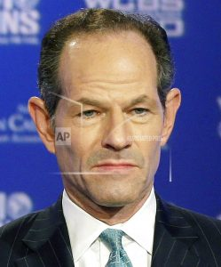 Man files complaint, says ex-Gov. Spitzer threatened him