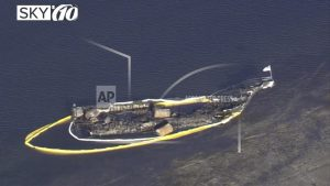 Casino company: Boat that caught fire had no past problems