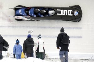 Olsen, Cunningham, Bascue lead US Olympic bobsled team