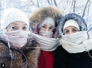 Big freeze: Russia's Yakutia sees near-record cold spell