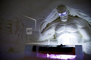"""""""Games of Thrones""""-themed ice hotel opens in Finland"""