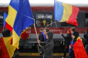 Romanians protest corruption after law passed by Parliament