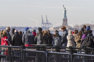Mountains yes, Ellis Island no: Some US parks open, some not