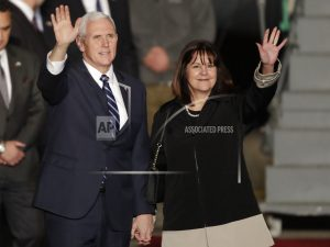 Pence says he's proud to be in 'Israel's capital, Jerusalem'