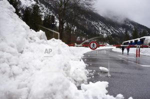 The Latest: UN say Alps seeing remarkable amount of snowfall