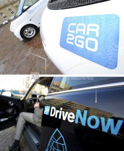 Report: Daimler, BMW to merge their car-sharing services