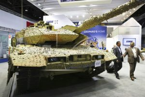 Rising exports, Turkish tanks fuel German arms sales debate