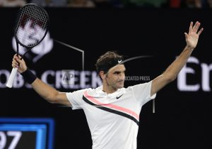Federer advances to Australian Open semifinal against Chung