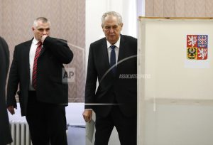 Czechs voting for president in test of pro-Russia incumbent
