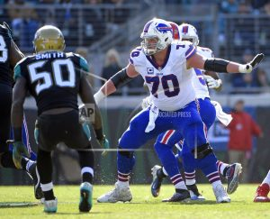 Bills center Wood retiring after diagnosed with neck injury
