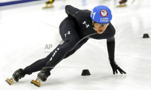 J.R. Celski is calming influence amid chaos of short track
