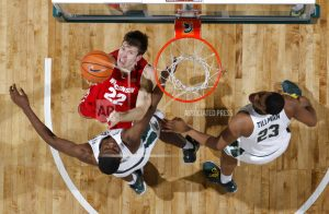 No. 6 Michigan St beats Wisconsin 76-61 on day AD retires