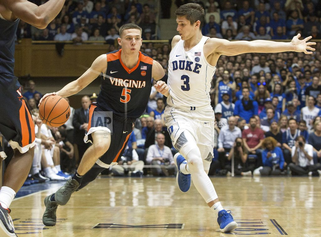No. 2 Virginia shuts down No. 4 Duke in ACC showdown