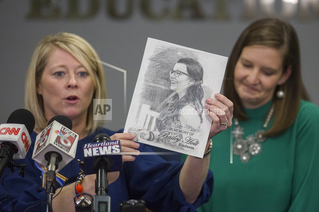 Kentucky: 2 school shooting victims mourned at funerals