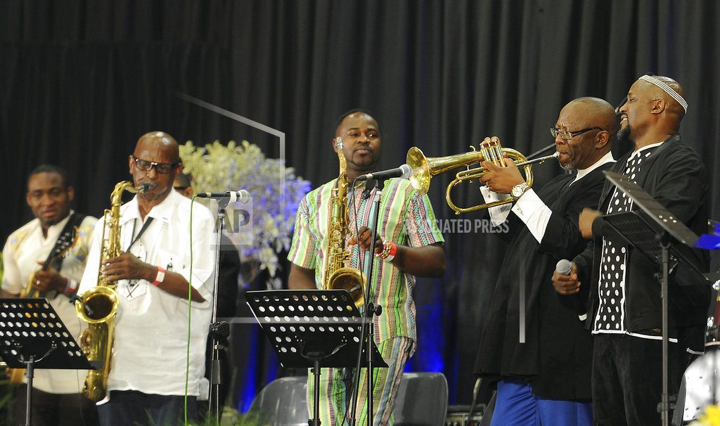 Musicians at South African memorial celebrate Hugh Masekela