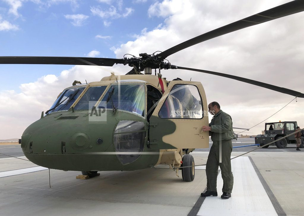 Jordan marks handover of 12 US Black Hawk helicopters