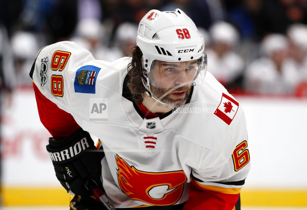 AP sources: Flames put Jaromir Jagr on waivers