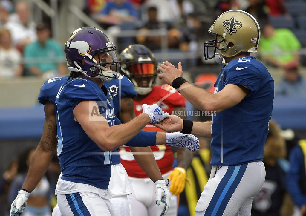 Carr, Walker, Miller help AFC rally to win Pro Bowl 24-23