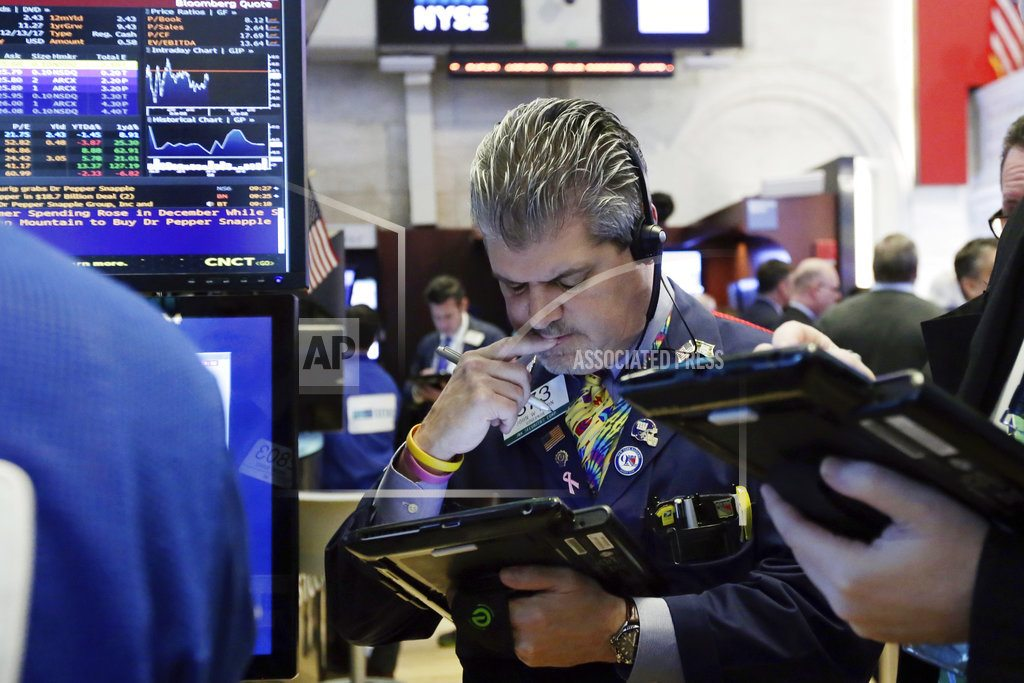 Technology companies lead modest pullback in US stocks