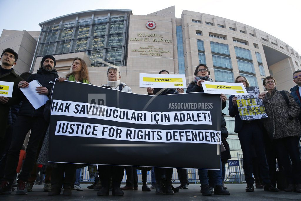 Turkey: court orders Amnesty chair released from jail