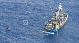 7 rescued from life raft in Pacific Ocean after ferry sank