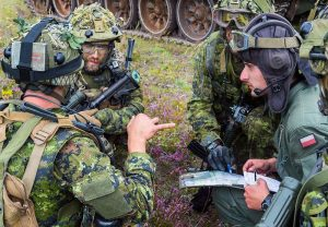 Canadian Armed Forces Members deployed continuing deterrence mission in Latvia