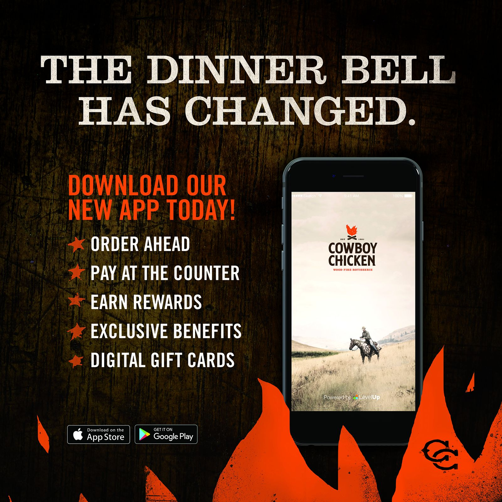 Cowboy Chicken Updates Mobile App to Put More Control in Guests' Hands with Cleaner Navigation and Increased Flexibility