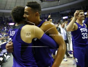 TCU upsets No. 7 WVU 82-73 after falling out of Top 25