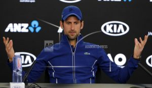 Service ace: Djokovic back with rebuilt serve at Aussie Open