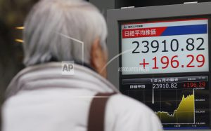 Asian shares mostly rise on Wall Street optimism