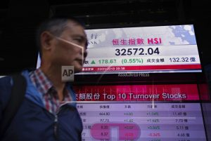 Asian shares rise on global growth hopes, US shutdown end