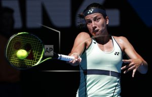 The Latest: American beats Konta in Aussie Open 2nd round