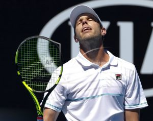 The Latest: Wawrinka loses in straight sets