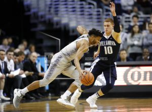 No. 1 Villanova leads by 44, beats Ewing, Georgetown 88-56