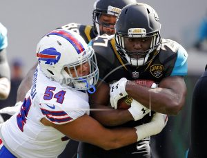 The Latest: Bills-Jaguars game scoreless after 1st quarter