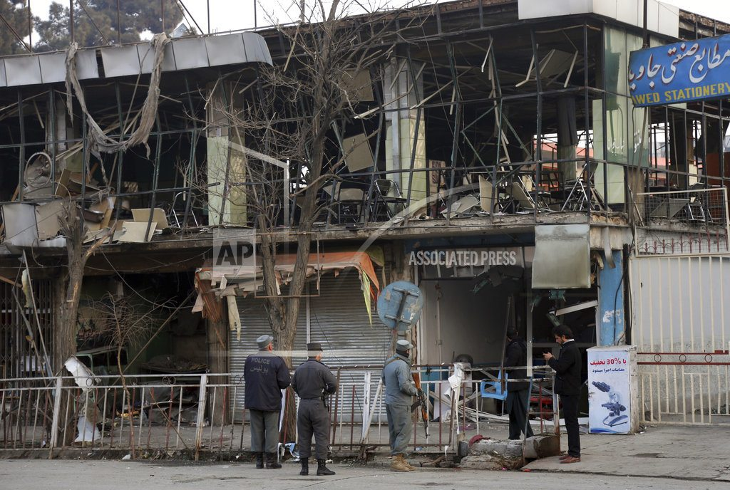 Afghan official says death toll from bombing rises to 103